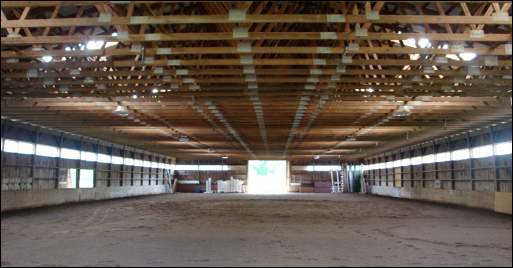 River Run Farm Indoor Arena
